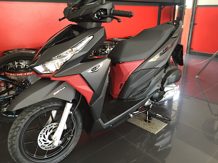 Hire motorcycle Pattaya